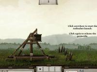 Angriff mit dem Katapult